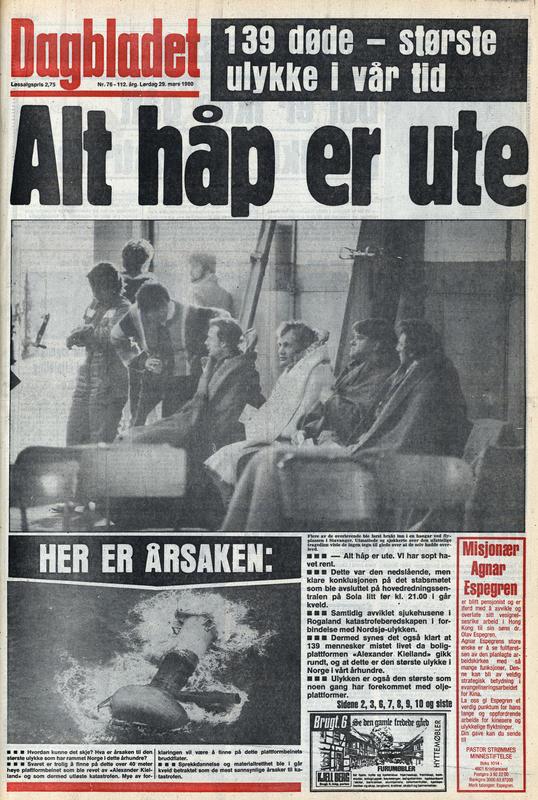 Dagbladet 1980 (Foto/Photo)