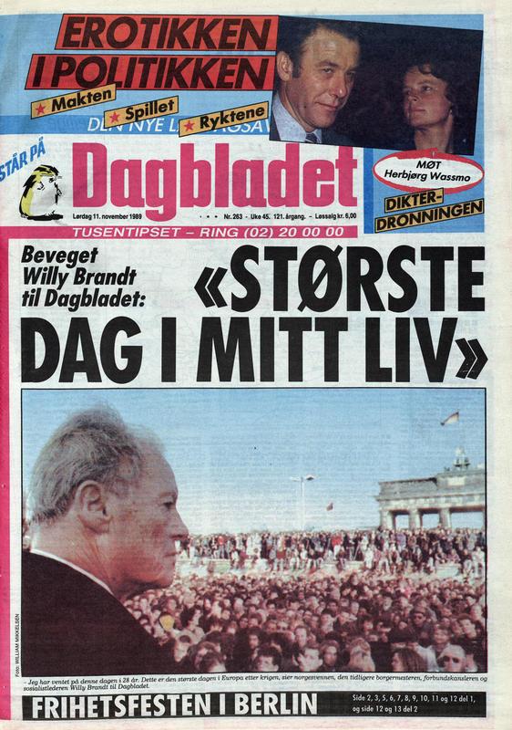 Dagbladet  1989