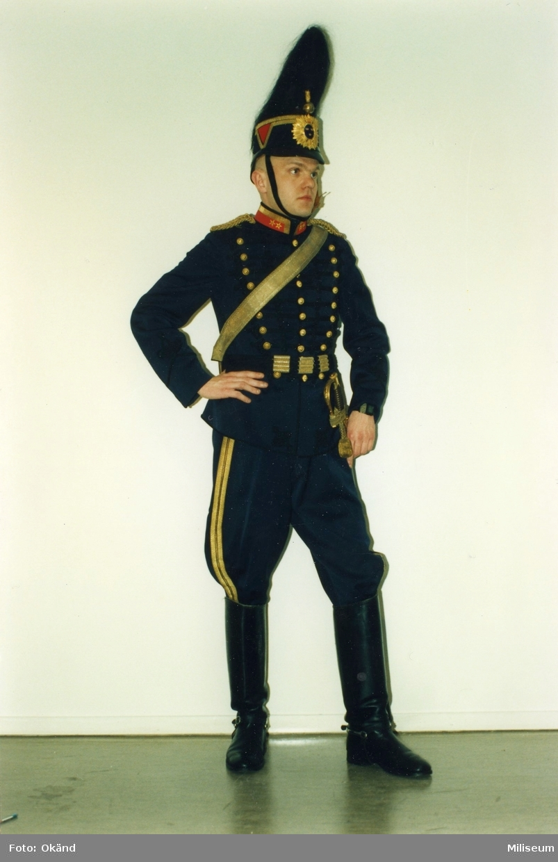 Pettersson, Stefan. Uniform m/1873, överstelöjtnant, A 6.