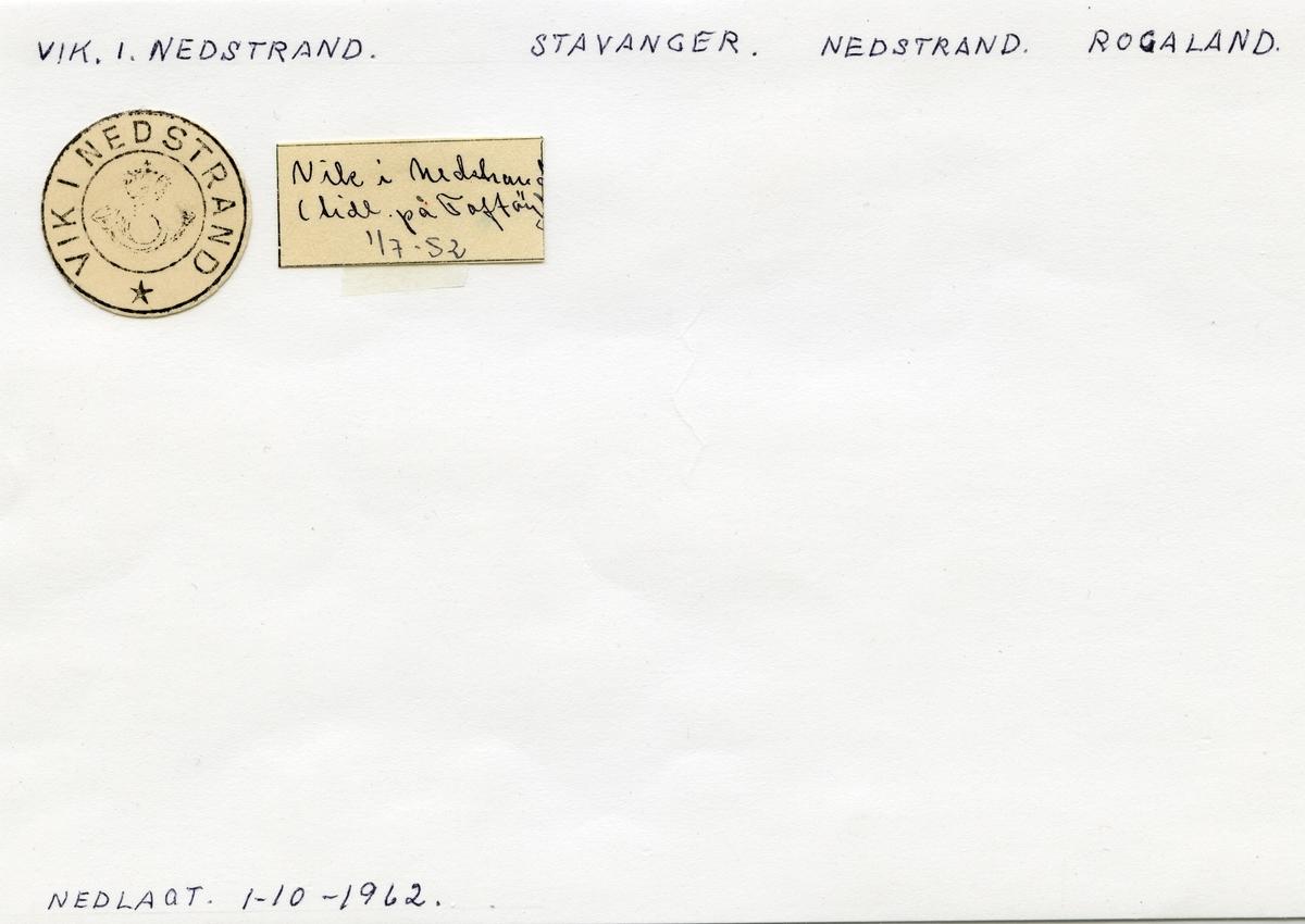Vik i Nedstrand, Stavanger, Nedstrand, Rogaland