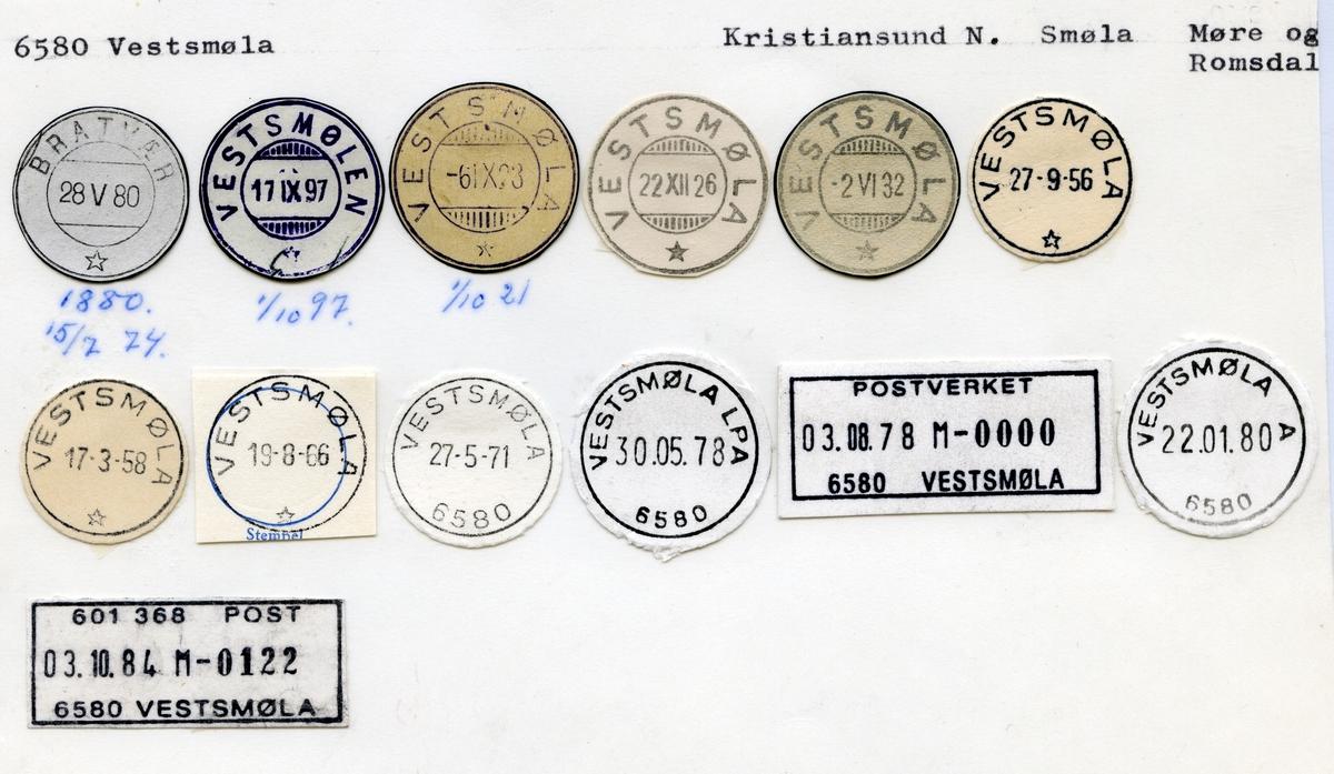 6580 Vestsmøla (Bratvær, Vestsmølen), Kristiansand, Smøla, Møre og Romsdal