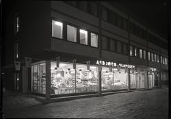 Asbjørn Olaussens forretning, Polaris Innredning, reklame