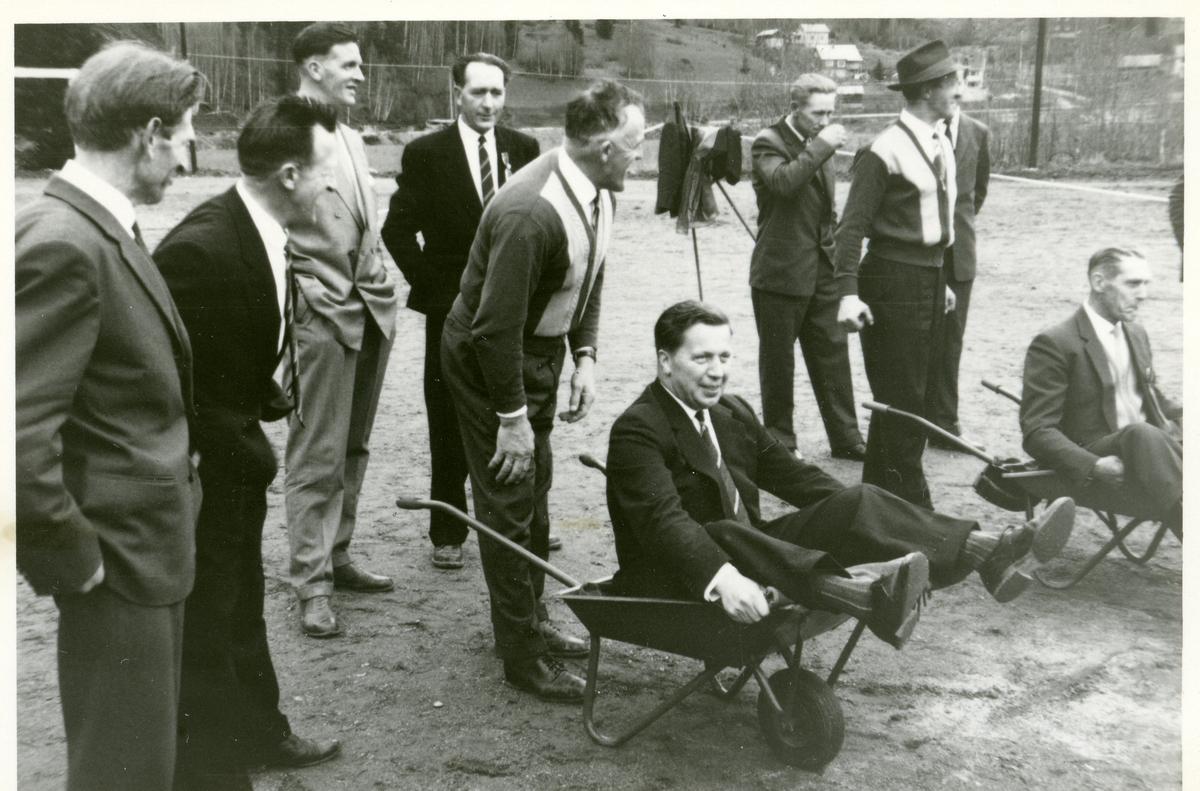 17.mai 1960 ved Fossvang.