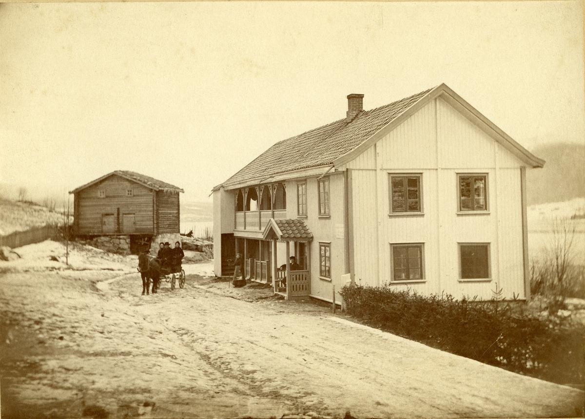 Engerodden skysstasjon, Ådalen.