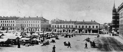 Gävle stad – Norr, Stortorget. Stortorget omkring 1903.
