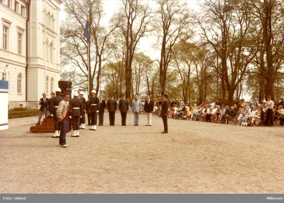 Jönköping 700 år. Rådhusparken.