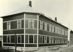 Huths gate 8, Fredrikstad Skofabrikk, Fredrikstads første sk