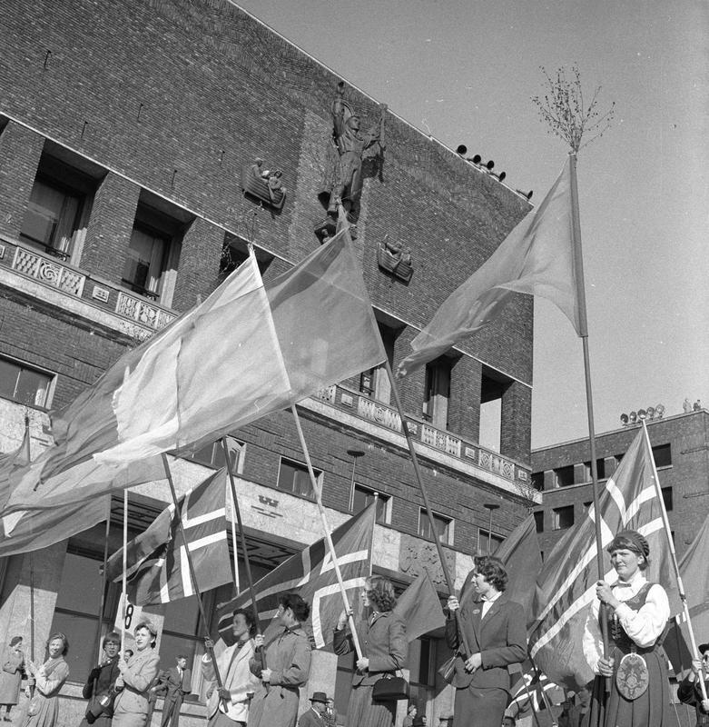 1. mai feiring, Oslo 1956