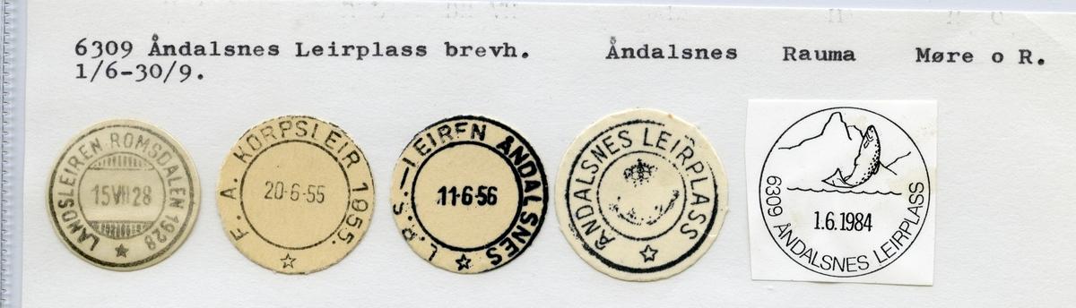 6309 Åndalsnes Leirplass (Landsleiren Romsdalen 1928), Åndalsnes, Rauma, Møre og Romsdal