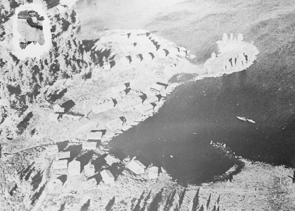 Naturforhold, bygninger. Fiskevollen, Sølensjøen.