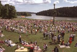 Midsommarafton Tyresö slottspark,