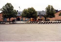 Kaserngården A 6. Maskiner och rör.