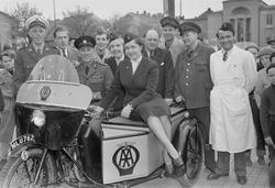 Motorförarnas Helnykterhetsförbund, Uppsala, maj 1954