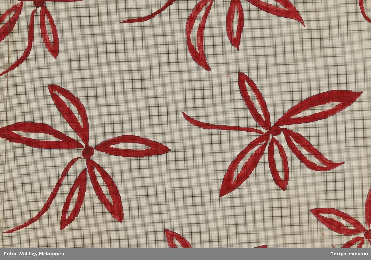 Blomst med spisse kronblader.