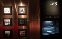 Utställning i ubåtshallen, Marinmuseum. Karlskrona