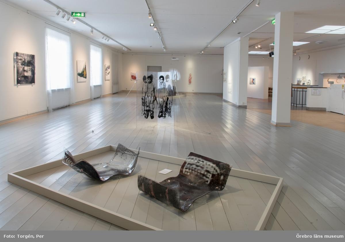 """Dokumentation av konstnären Tomas Colbengtsons utställning """"SAIVO"""" på länsmuseet 1 april - 28 maj 2017"""