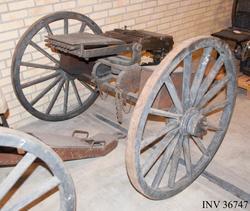 Lavett till 12 mm kulspruta m/1875