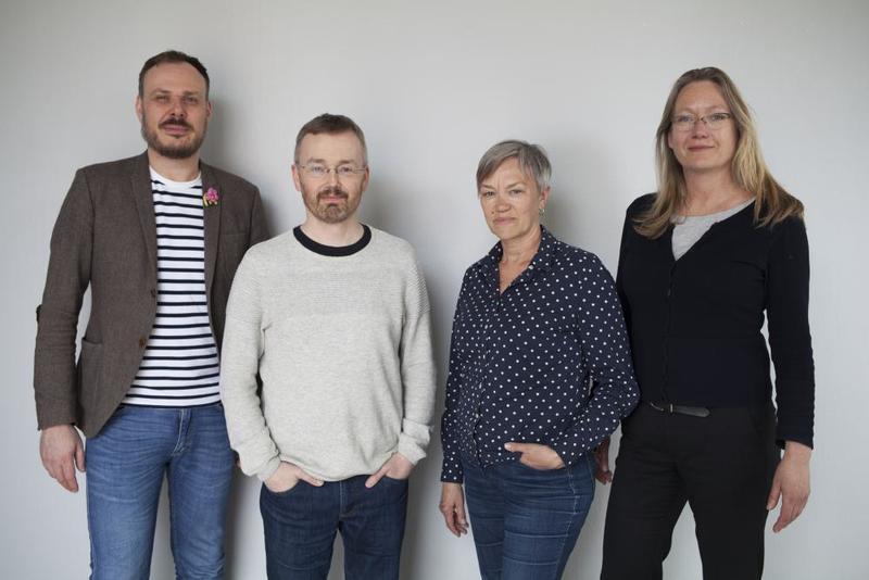 Steffen Wesselvold Holden, Reinhold Ziegler, Edith Lundebrekke and Anne Thomassen