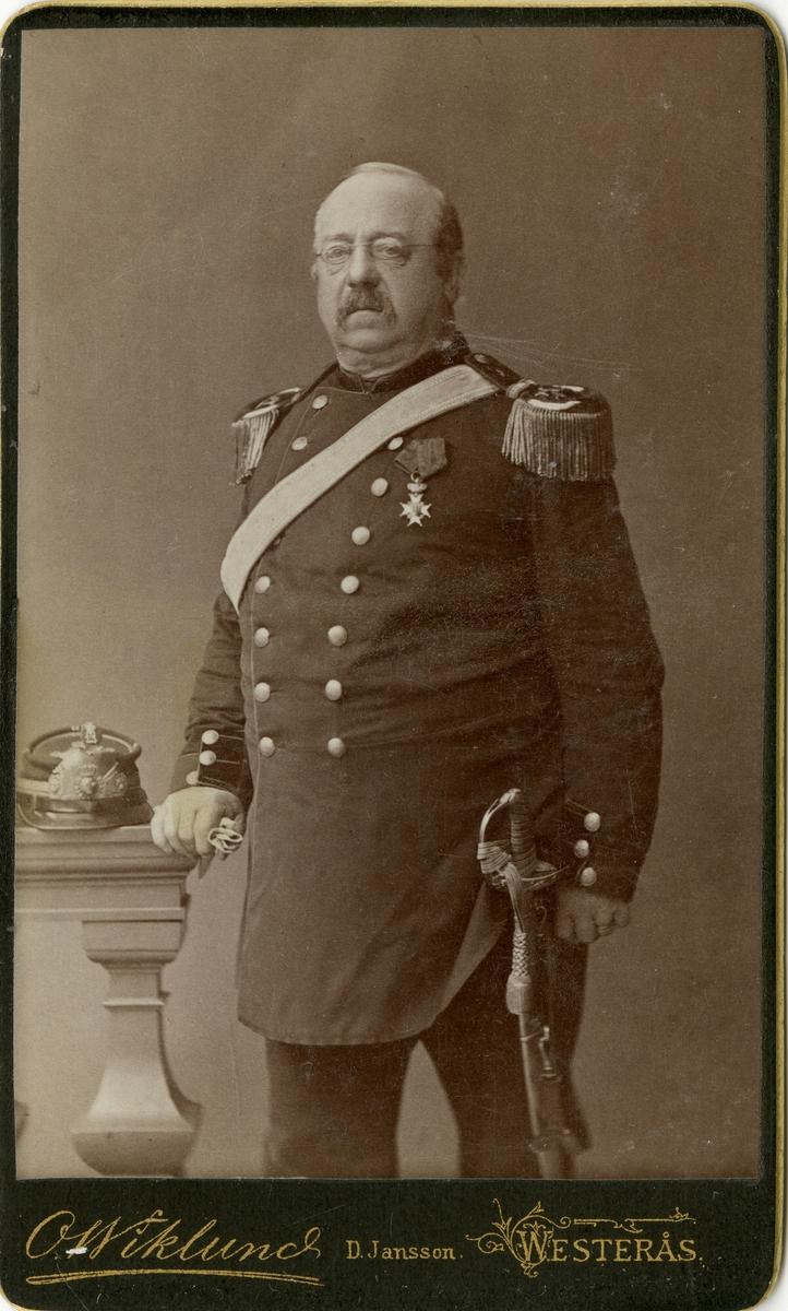 Porträtt av regementsläkare August Fredrik Stål.
