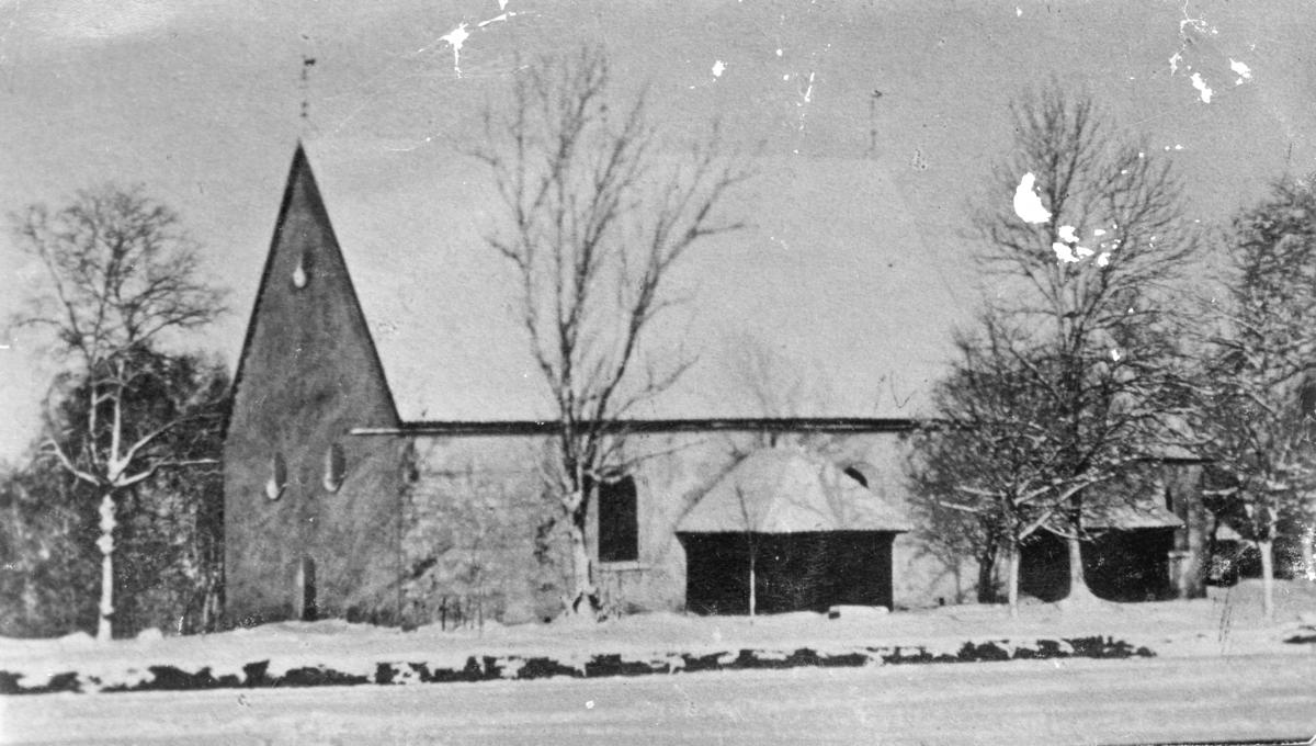 Värnamo gamla kyrka.