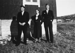 Ungdommer fra Tranøybotn og Stangnes.