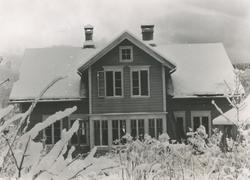 Dokumentasjonsbilder i serie av Hamrevillaen på Skuggen, Nør