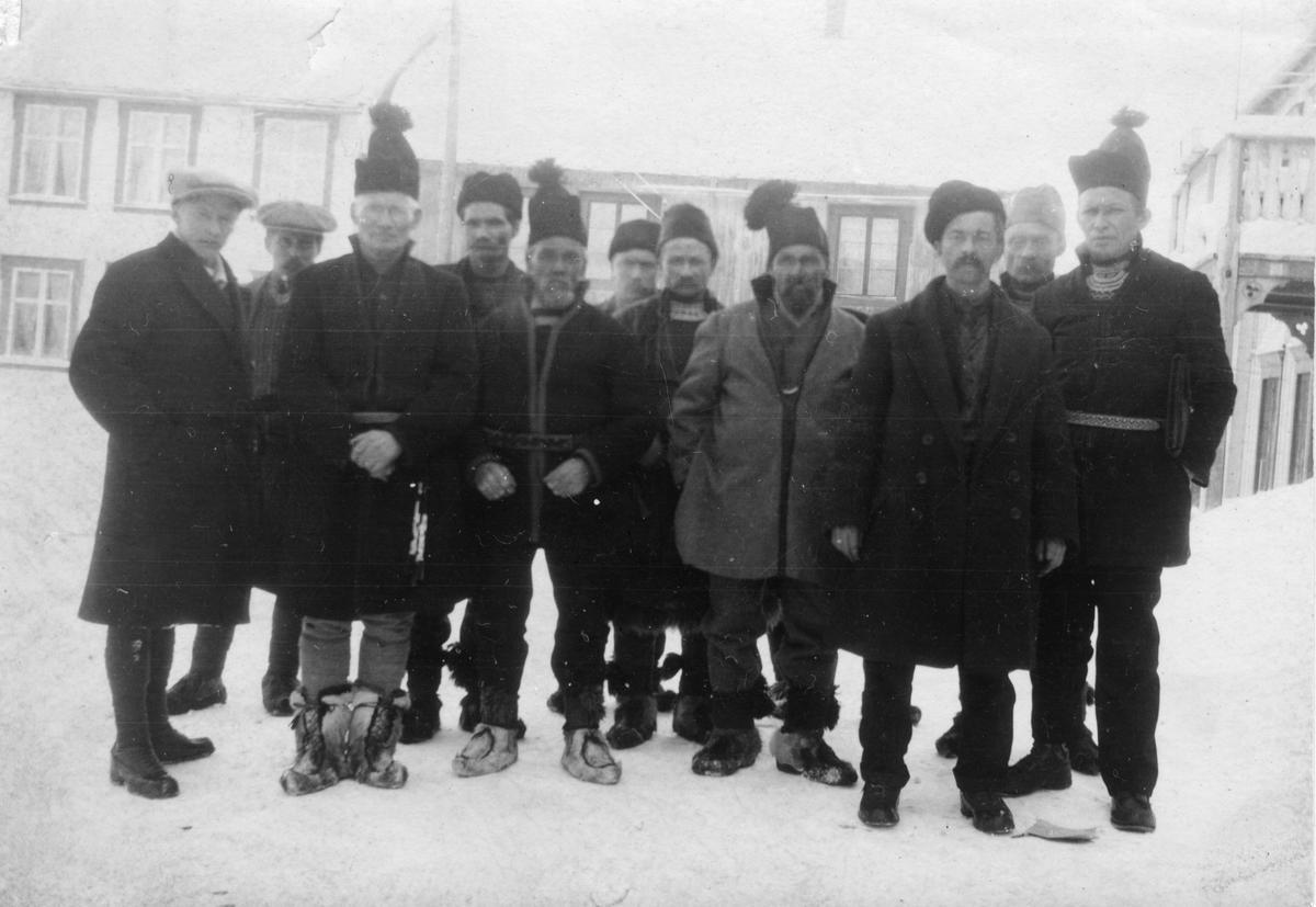 Møtedeltakere ant. 1922 (Foto/Photo)