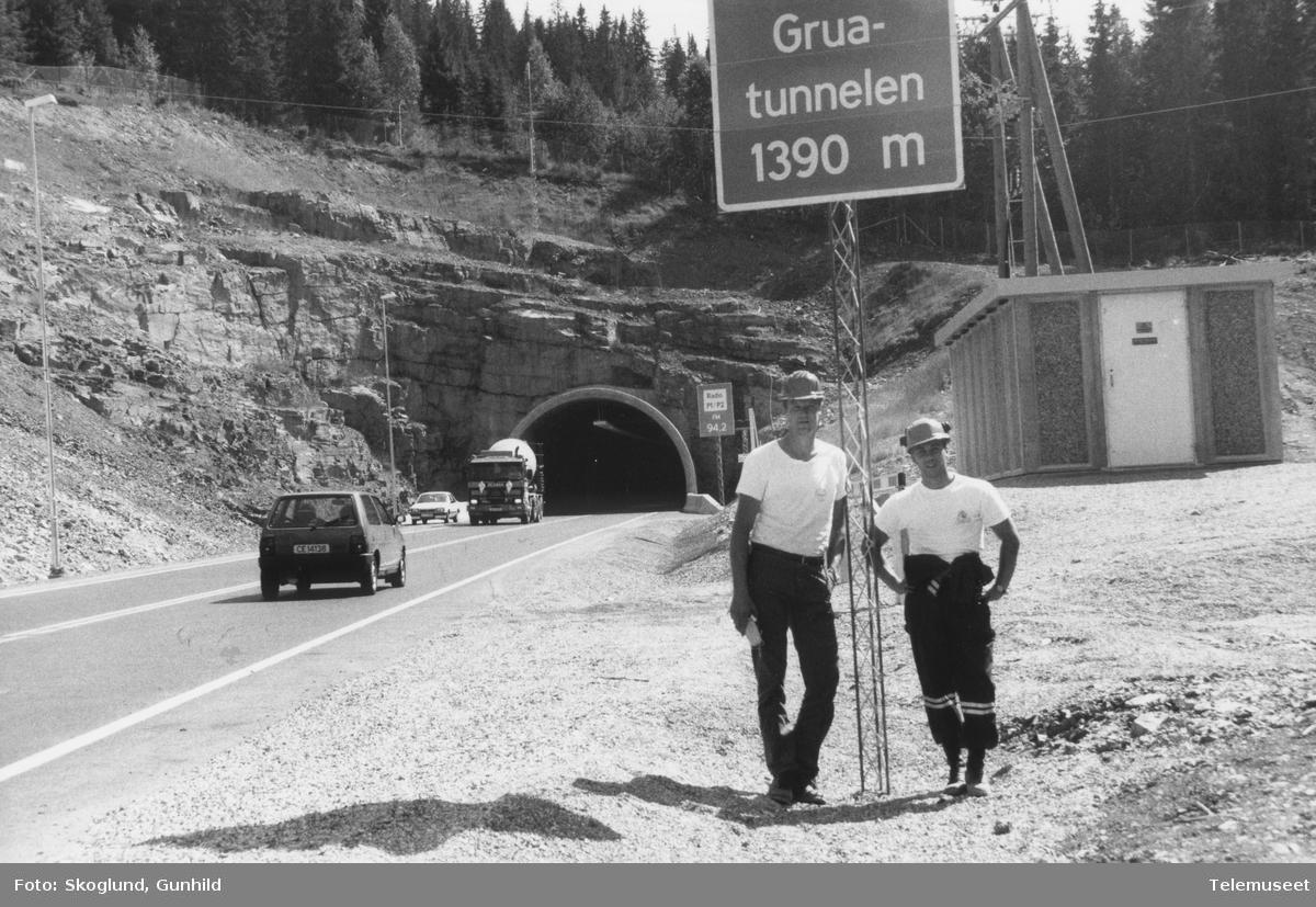 Mobil og radioforbindelse i ny tunnel Riksvei 4 Akershus - Roa