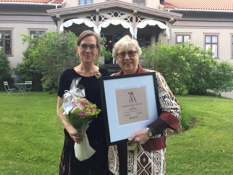 Kvinnemuseets hederspris 2017 til Torild Skard