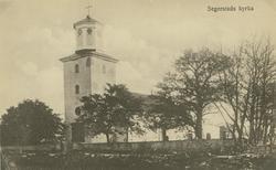 Öland Segerstads socken Kyrkan  Segerstads kyrka består