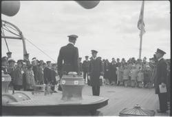 Örlogsflottans ungdomsdag i Saltsjöbaden 1929, ombord på H.M