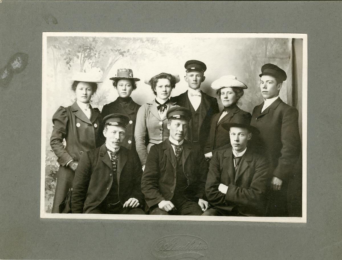 Gruppefoto fra Begnadalen.