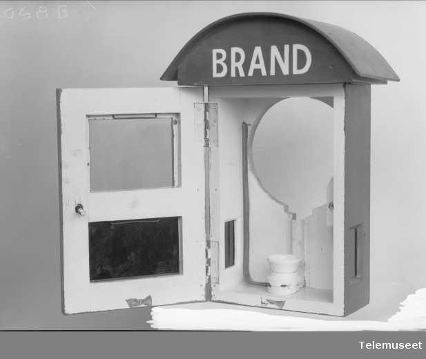 Brannalarmskap, Elektrisk Bureau.
