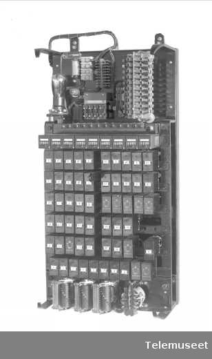 Automatsentral 10 nr, Elektrisk Bureau