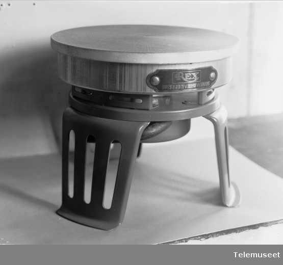 Rex kokeplate, Elektrisk Bureau.