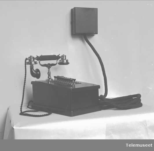 Telefon, lokaltelefonapparat. 16.12.16. Elektrisk Bureau.