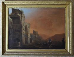 Romersk ruin [Lerretsmaleri]