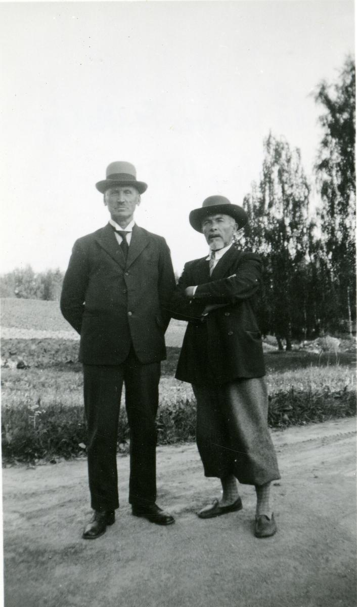 Mons Breidvik og Olaus Islandsmoen.