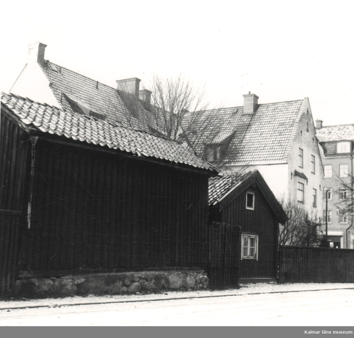 Bläckan 2, åt Jenny Nyströms gränd [före detta Tullgatan]. Foto: KG Pettersson 13/12 1961.