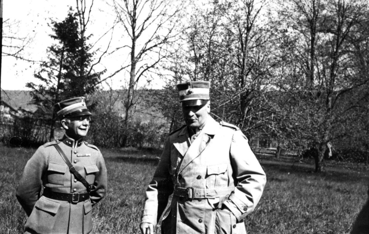 Smith, överstelöjtnant. A 6. Generalmajor Ankarcrona.