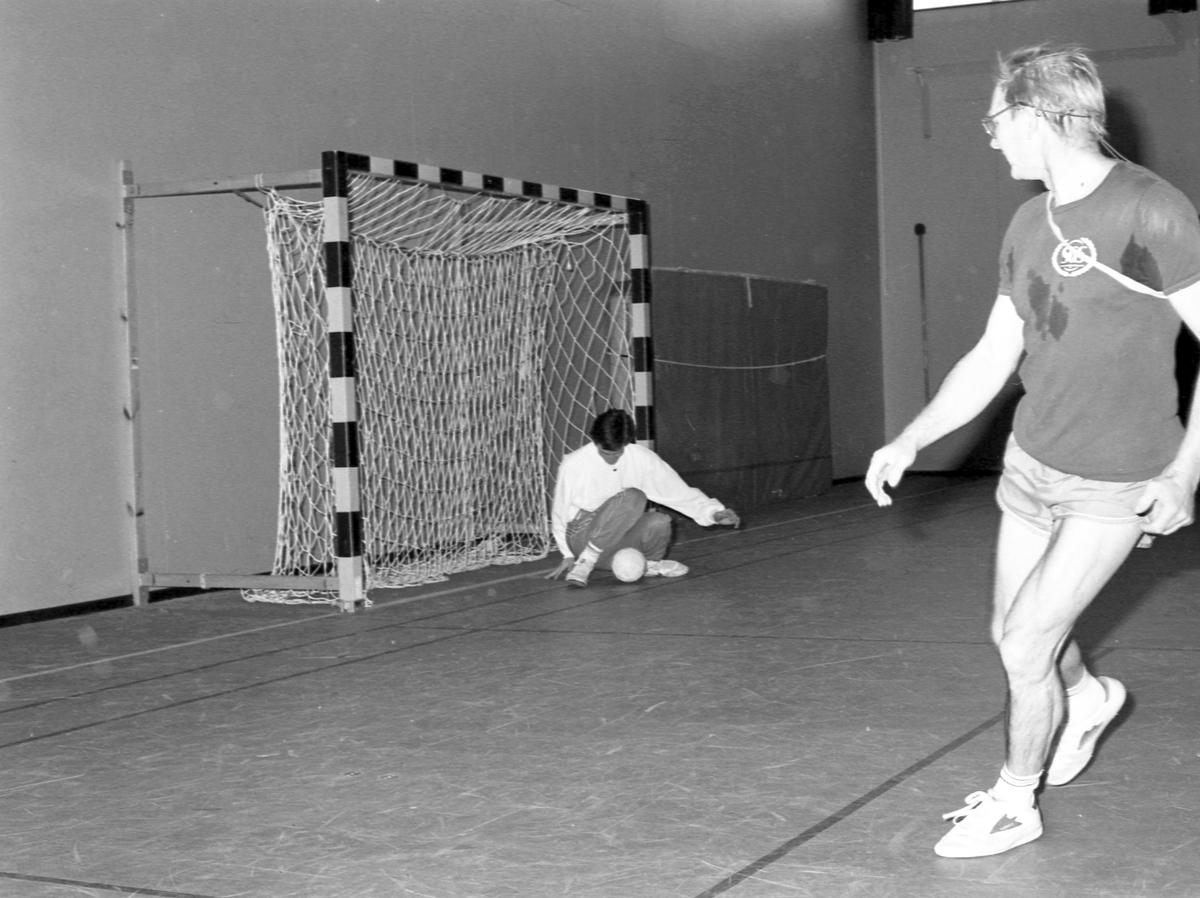 Handbollskurs Andersberg. 25 oktober 1986
