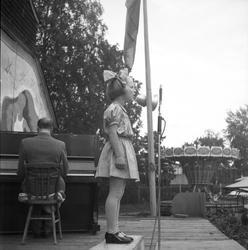 Idrottsmässa. 1943