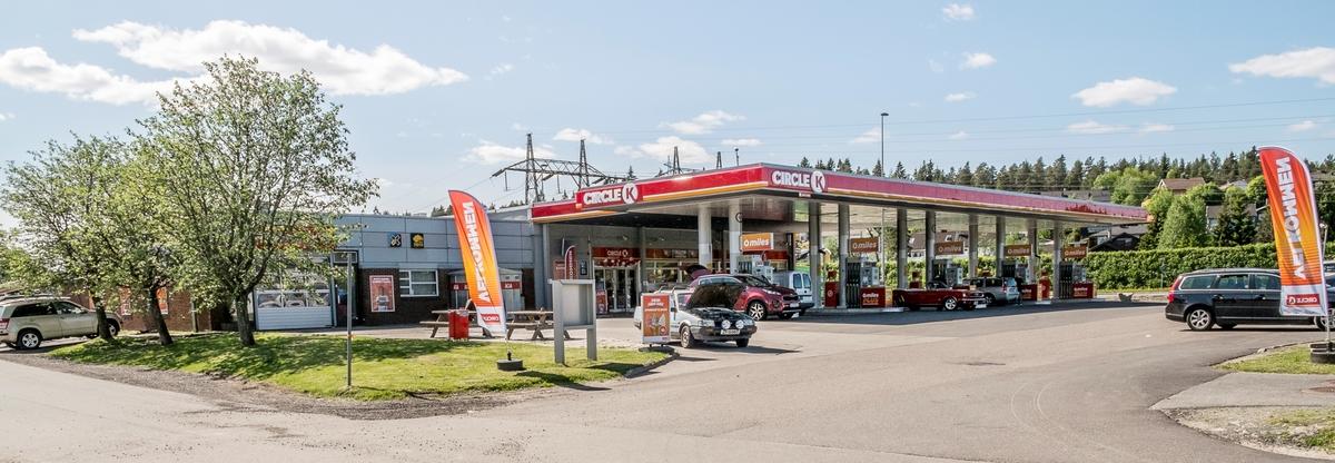 Circle K bensinstasjon Robsrudveien Lørenskog
