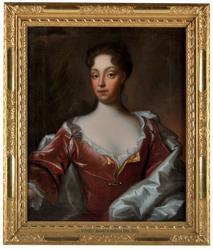Grevinnan Margareta Fredrika Bonde [Oljemålning]