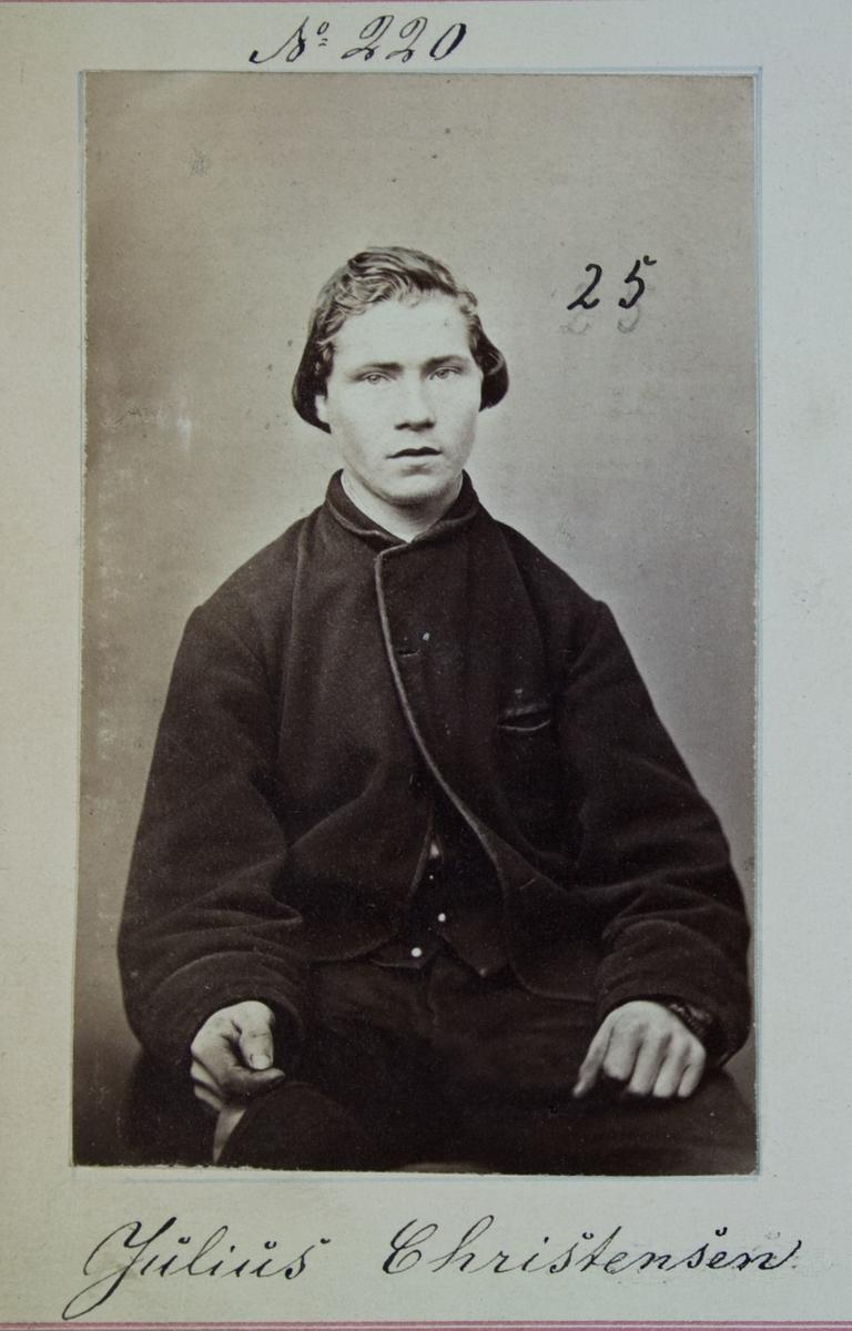 Fangeportrett, Julius Christensen