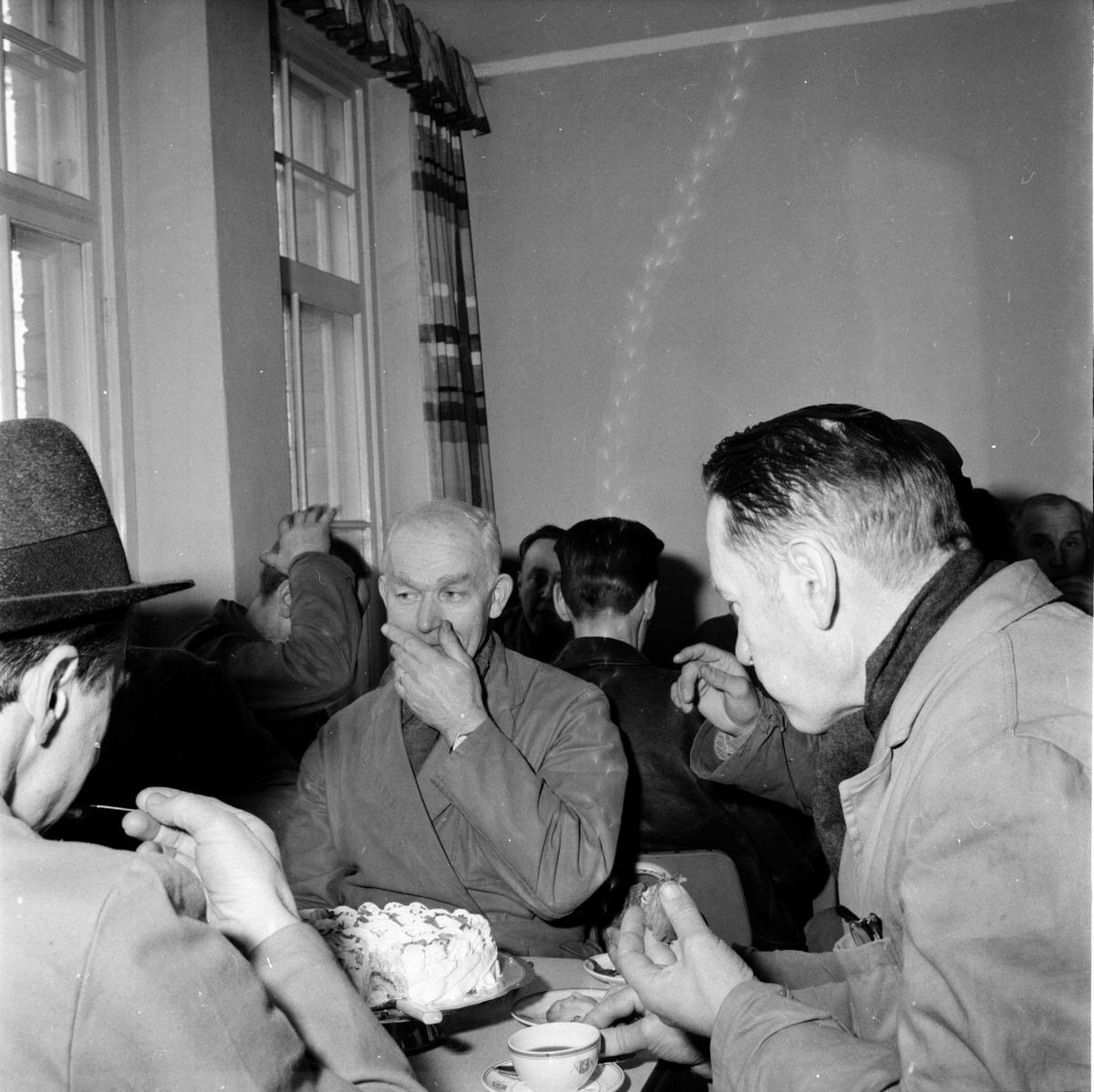 HAKONS sista dag i Bollnäs. 15/3 1963