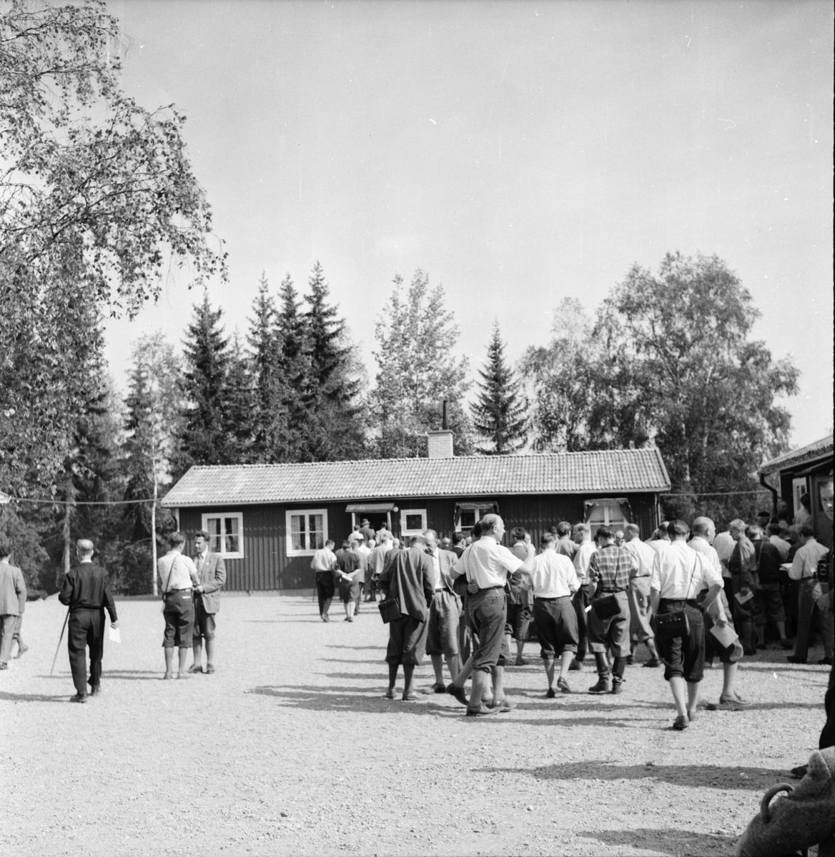 Skogsvårdsförbundet. Norrlands exkursion. 1955