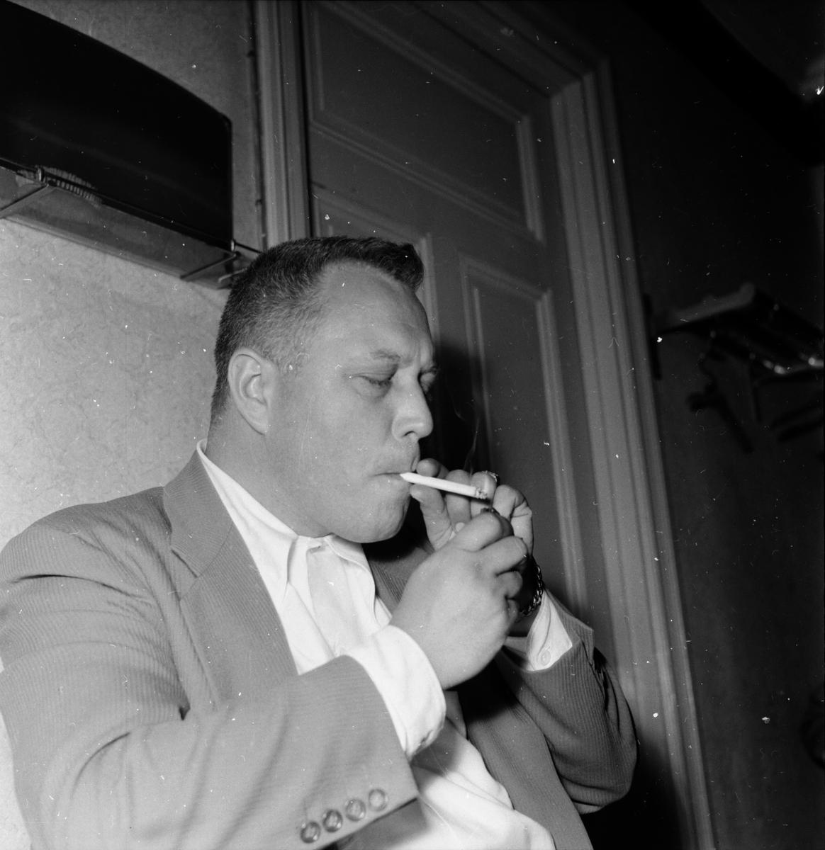 Kapellmästare Egon Kerrman.