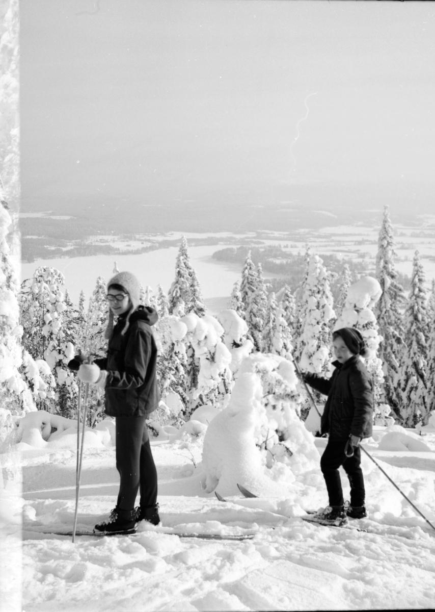 Arbrå, Åsberget, Februari 1969
