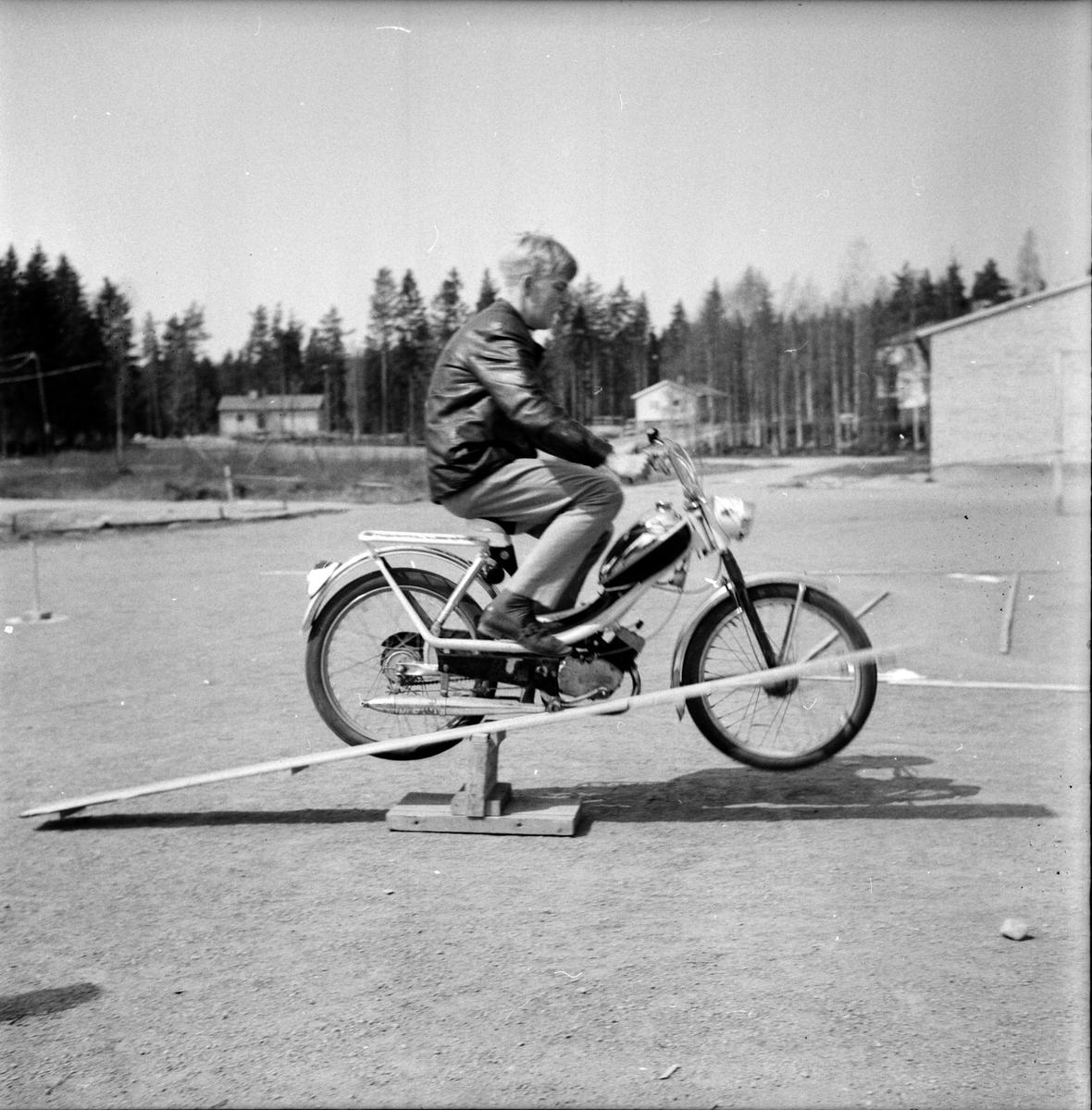 Granbergsskolan, Mopedtävlan, 25 Maj 1965